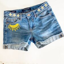 Vigoos Girl's Denim The Mid Shorts Size 14