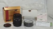 Sigma 28-80mm f3.5-5.6 II lens for Canon EF Camera New Old Stock Mint in Box