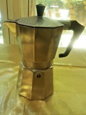 VINTAGE 12 OZ.  ESPRESSO MADE IN ITALY ALUMINUM STOVE TOP COFFEE MAKER/OCTAGON