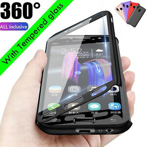 For Samsung Galaxy A10e/A20/A30/A50/A505U 360° Case Shockproof Full Body Cover