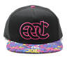 2016 EDC ELECTRIC DAISY CARNIVAL 20TH ANN BLACK PINK HAT RARE SOLD OUT 1ST NIGHT