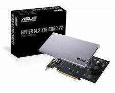 ASUS Hyper M.2 X16 PCIe 3.0 X4 Expansion Card V2 for Intel VROC and AMD Ryzen