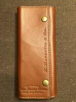 K. Hansotia Cigar Case Pouch Holder Box Rare Limited Edition Tobacco Decor New