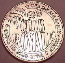 UNC Club Royale Gaming Token ~ le Navire Que Sank Après 1 Mois ~ Gratuit