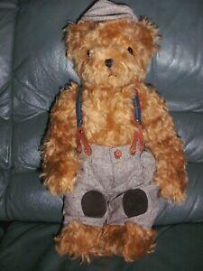 Teddy Hermann bear long haired mohair limited edition 242 of 1000