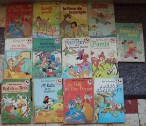 lot 13 de livres enfants WALT DISNEY Mickey Club du Livre