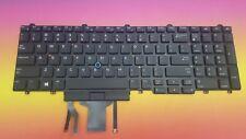 Keyboard US Dell E5570 E5580 Präzision 15 3000 15,17 7000 0383D7 Backlit