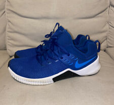 Nike Free Metcon Training Crossfit Gym Shoes Blue White AH8141-474 Size 11.5 US