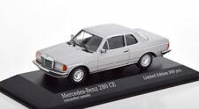 1:43 Minichamps Mercedes 280 CE C123 Coupe 1976 silver