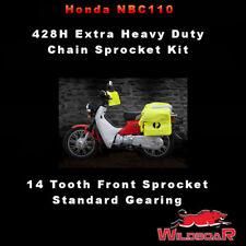 HONDA NBC110 NBC 110 POSTIE BIKE SUPER CUB EXTREME HD 428H CHAIN SPROCKET KIT