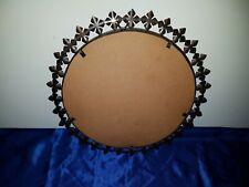 Mid Century Spiegel Sunburst Wandspiegel Kupfer Vintage copper sunburst mirror