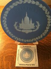 Wedgwood Commemorative Plate Christmas 1972 St. Paul's Cathedral