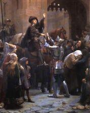 Joan of Arc Scherrer Vaucouleurs Departure France Jeanne d'Arc 6x5 Inch Print