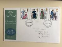 "Post Office First Day Cover"" Jane Austin (1775-1817)1975"
