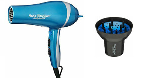 BaBylissPro Nano Titanium Hair Dryer BNT5548 w A Bonus Universal Finger Diffuser