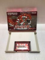 Pokemon Ruby Nintendo Game Boy Advance Pocket Monster GBA