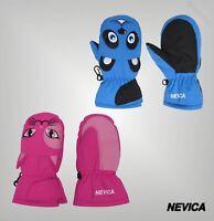 Boys Girls Nevica Lightweight Soft Logo Animal Mitten Sizes Age from 1 to 4 Yrs