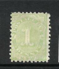 NEW SOUTH WALES 1891-92   1d   POSTAGE DUE    MNG  P10   SG D2