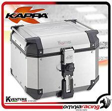 Bauletto Valigia Kappa K-Venture in Alluminio KVE42A 42Lt - Monokey
