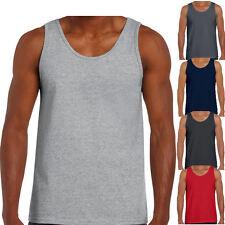Gildan Herren Tank Top T-Shirt Muskelshirt T Shirt S M L XL XXL