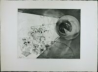 Vintage Etching Print, Black & White, Solid Engraving Print, Modern Abstract