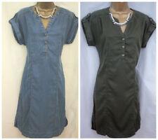 Denim V-Neck Summer/Beach Dresses for Women