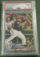 Juan Soto 2018 Topps Update #US300 Batting Rookie RCPSA 9 MINT-AWESOME CARD! 🔥