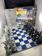 2002 Harry Potter Wizard Chess Set Complete Nice Condition Mattel #43533