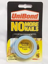 Unibond No More Nails Picture Hanging Strips Double Sided Mounting Tape 50kg