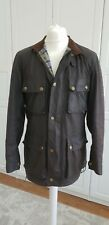 BELSTAFF Gold Label Vintage Roadmaster Mens Brown Waxed Jacket Size M