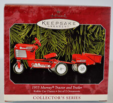 Hallmark Keepsake 1955 Murray Tractor & Trailer Kiddie Rides Classics Series
