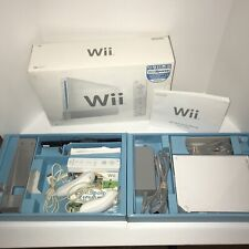 Nintendo Wii Bundle w/ Box, Wii Sports Games & Extras-WORKS, WILL NOT READ DISCS