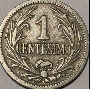 1901 Uruguay 1 Centesimo
