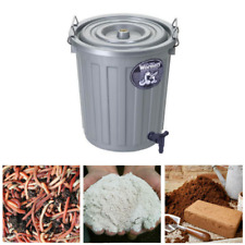 More details for the junior wormery + worms set - create organics compost for your garden!