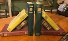 Bookends Books Wood Book ends,Vintage look Set of 2, multi-color