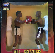 "RARE 1998 Timeless Legends 12"" Figures Muhammad Ali. Vs Frazier Starting lineup"