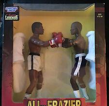 "RARE 1998 Timeless Legends 12"" Figures Muhammad Ali. Vs Frazier Starting lineup"