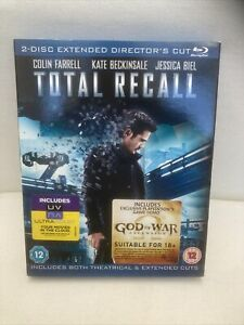 Total Recall (2012) 2 Disc Extended Directors Cut Edition Blu-ray Colin Farrell