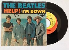 BEATLES - Help! / I'm Down 45rpm 1965 Capitol 5476 w/ Picture Sleeve JOHN LENNON