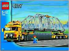 LEGO Town City Construction 7900 Heavy Loader New Sealed Truck Tractor Trailer