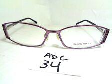 e03af9e33b0c New ELLEN TRACY Eyeglasses Cordelia Violet Rectangular (ADC-34)