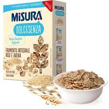 Céréales Blé Multigrains Misura 350 Gr Doux Sans Riz Avoine Et sans Sucre