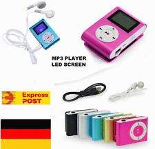 Mp3 Player Metall Clip Music Player bis zu 32GB Speicherkarte Neu Wiedergabe