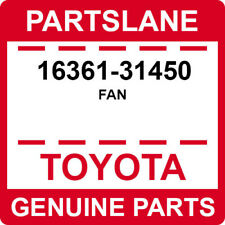 16361-31450 Toyota OEM Genuine FAN