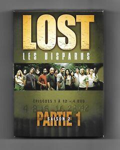 coffret de 4 DVD - LOST les disparus saison 2 partie 1 (épisodes 1 à 12)