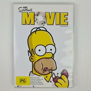 The Simpsons Movie DVD - Region 4 PAL - TRACKED POSTAGE