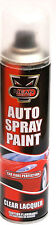 3 x CLEAR LACQUER Aerosol Spray Cans Cars & Vans Auto Spray Paint 300ml