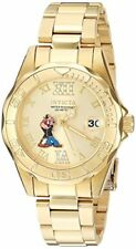 Invicta Women's Character Quartz Gold Tone Stainless Steel 100m Watch 24473