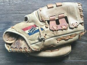 """REGENT 03960 ALL Leather 11.5"""" RHT Baseball Mitt Glove JAPAN VINTAGE VTG RARE VG"""