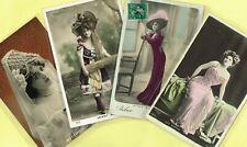 ☆ FRENCH ACTRESS / ARTISTE / CABARET SHOWGIRL / DANCER ☆ 1900s Postcards LIST 4